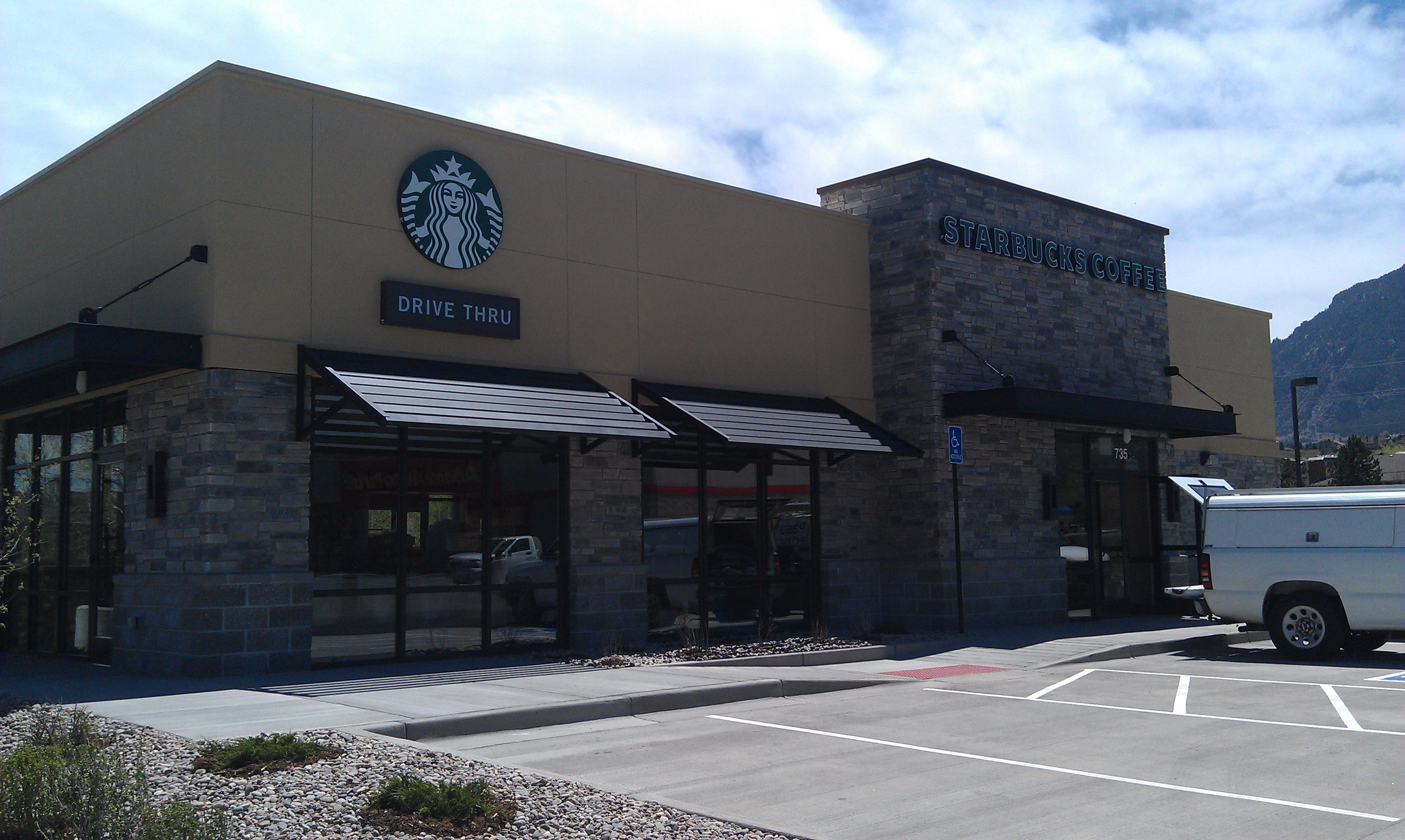 Image gallery starbucks building 2014 for Builders to build a house