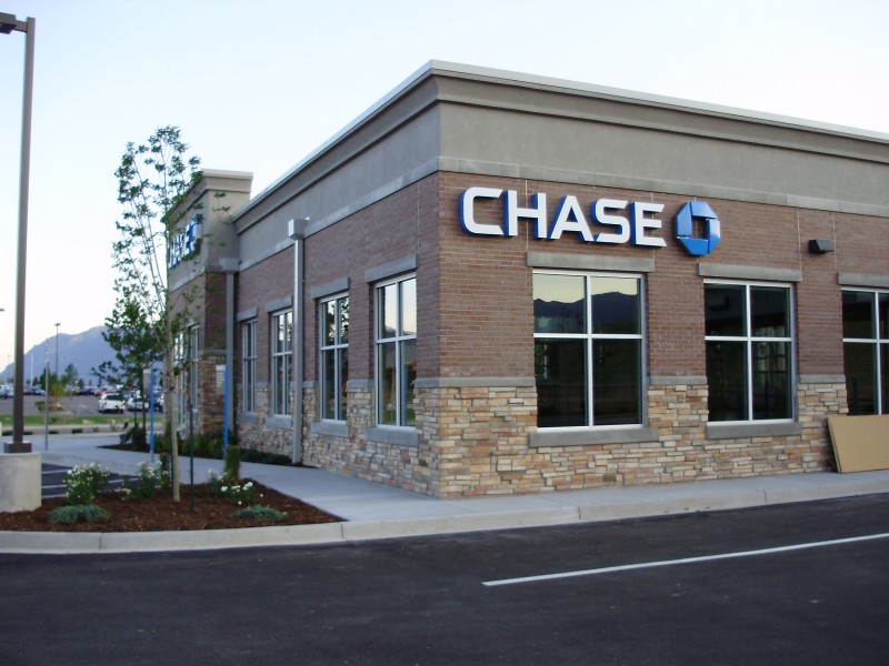 Chase Bank - Commercial Building Project - Christofferson